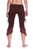 Psy Trance Pixie Woodland Hippy Fae Tribal Leggings in Brown - Accorn Leggings (WTR5007) by Altshop UK